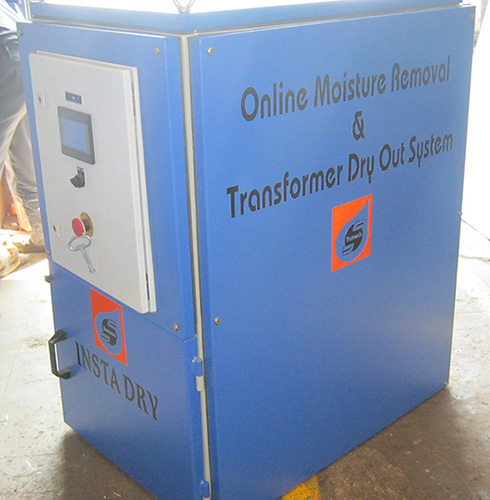 Online Moisture Removal And Transformer Dry Out System