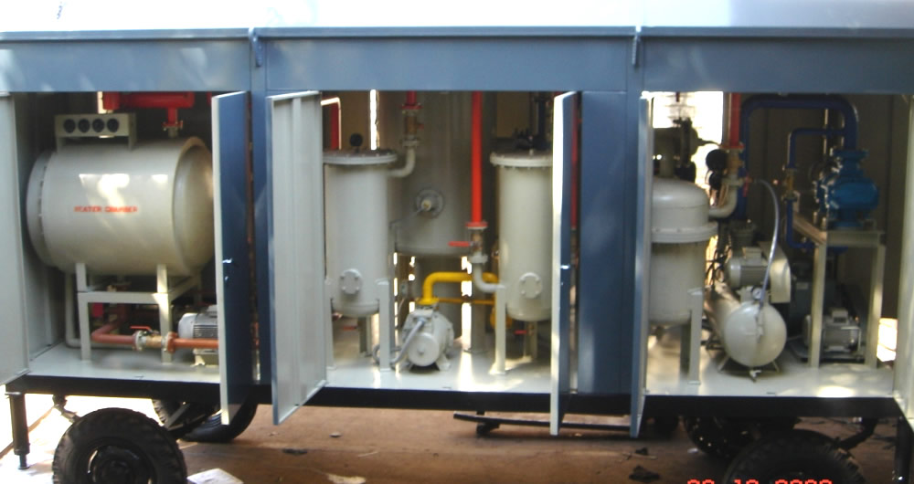 Manufacturer of Lube Oil Filtration Plant- Image